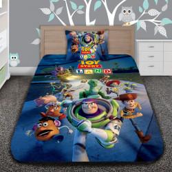 3D луксозен детски спален комплект TOY STORY LAND