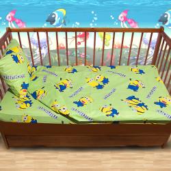 Бебешки спален комплект Миньони 1