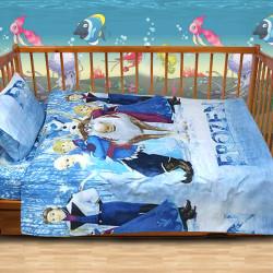 Луксозен бебешки спален комплект Blue Frozen