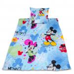 Луксозен бебешки спален комплект Мики Маус и Мини Маус