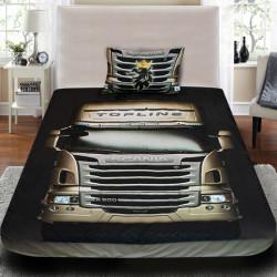 3D луксозен спален комплект с Камион Scania