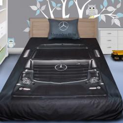 3D луксозен спален комплект с Камион Mercedes-Benz