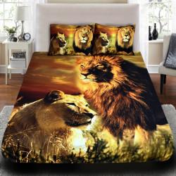 3D луксозен спален комплект ''Lions''