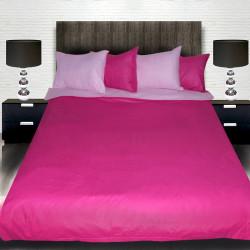 Комплект от двулицево спално циклама и розов с подарък