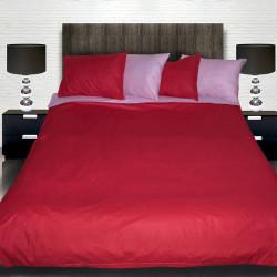 Комплект от двулицево спално червен и розов с подарък